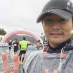 台風迫る!しまだ大井川マラソン in リバティ参戦
